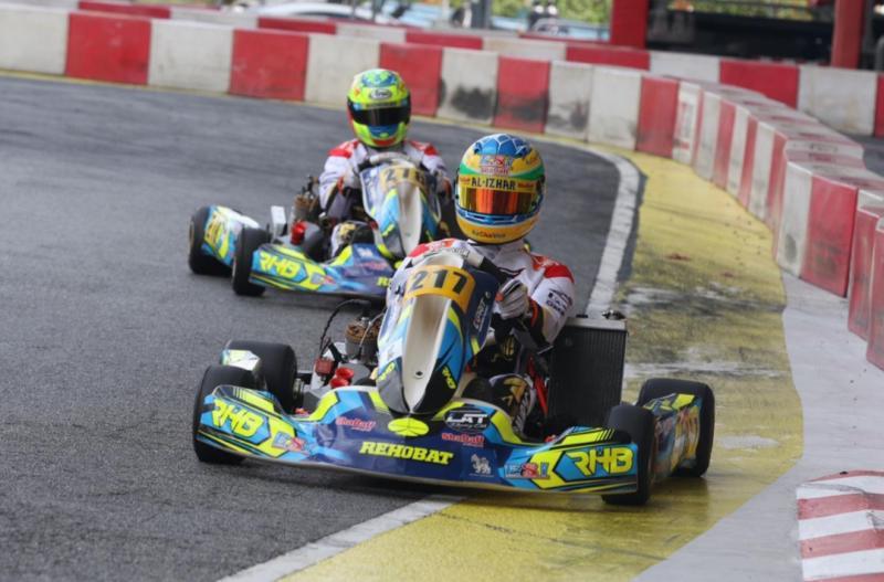 Rava Mahpud dan Nathanael duet tim Rehobat Racing. (Foto : RHB)