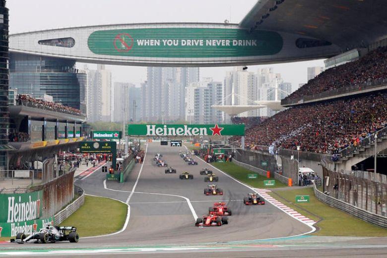 GP China di Shanghai, tak realistis berlangsung sesuai jadwali. (Foto: the strauttimes)