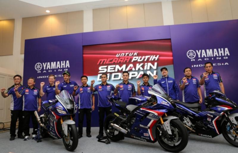 Pembalap Yamaha Racing Indonesia akan turun di berbagai event balap tahun ini