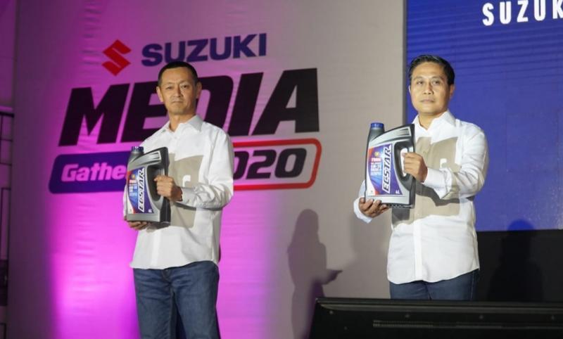 Suzuki luncurkan Ecstar, pelumas mobil performa tinggi