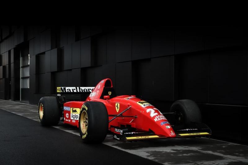 Ferrari 1995 besutan Michael Schumacher saat masih bersergama tim Benetton. (Foto: giarardo&co)