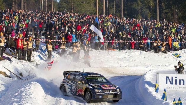 Rally Swedia, salah satu seri kejuaraan dunia yang ditunggu-tunggu. (Foto: sportspro)