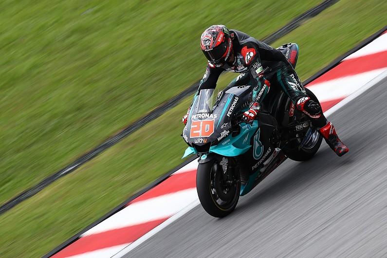Fabio Quartararo (Petronas Yamaha Srt) kembali mengangkangi para rider pabrikan. (Foto: autosport)