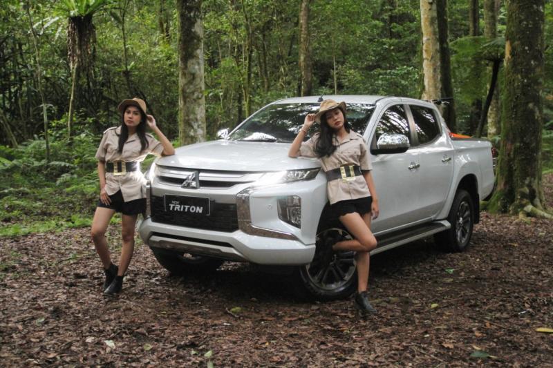 Bisa dibilang, New Mitsubishi Triton menjadi double-cabin SUV dengan teknologi terlengkap yang dipasarkan di Indonesia, saat ini. (anto)