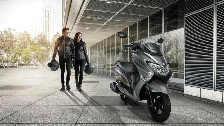 Suzuki Burgman 150 bisa jadi lawan sepadan untuk NMax ataupun PCX (ist)