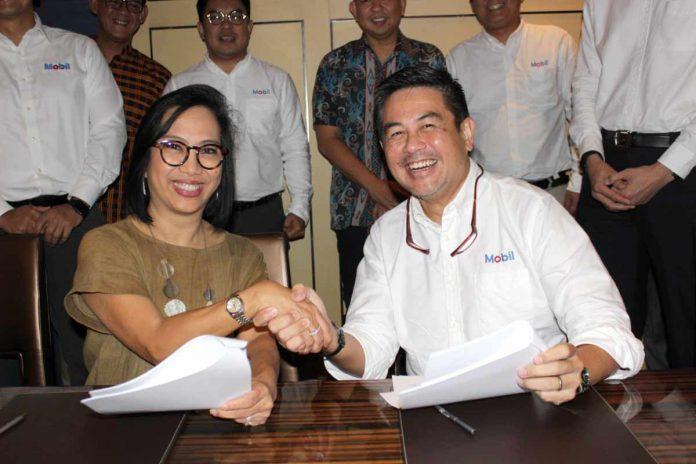PT ExxonMobil Lubricants Indonesia (ExxonMobil Lubricants) selaku pemegang produk pelumas Mobil menjalin kerjasama dengan perusahan transportasi online Grab Indonesia
