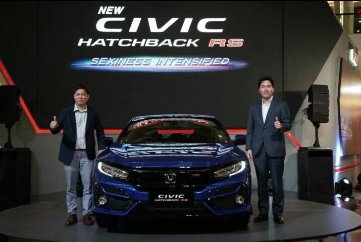 New Civic Turbo RS diluncurkan PT HPM sebagai model terbaru dari Honda Civic Hatchback pada 6 Februari 2020 lalu di Jakarta. (edited: anto)