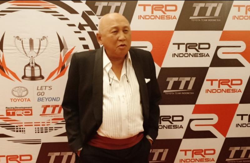 H Tinton siap ditunjuk Gubernur Anies untuk selamatkan Formula E. (Foto: Budsan)