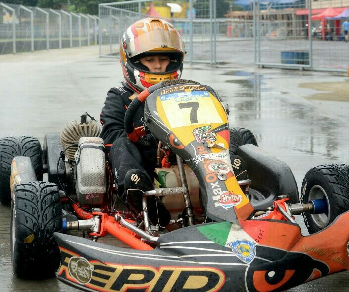 Qarrar Firhand, calon pembalap masa depan Indonesia. (foto : fajar)