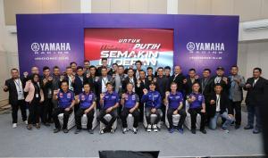 Ada Rossi & Vinales di Peluncuran Tim Yamaha Racing Indonesia 2020