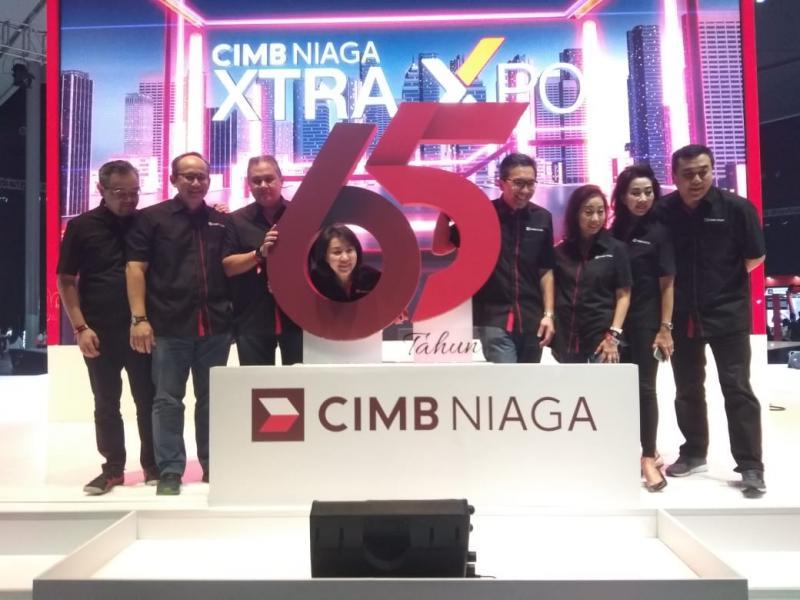 Xtra Xpo sebagai bagian dari perayaan hari ulang tahun (HUT) CIMB Niaga ke-65 pada 26 September 2020 mendatang.