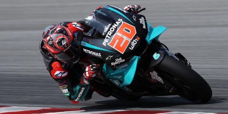 Fabio Quartararo (Petronas Yamaha Srt) awali musim 2020 dengan sangat positif. (Foto: motosport)