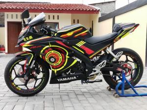 Trik Jitu Repaint Yamaha All New R15 Super Kilat Dan Murah Meriah
