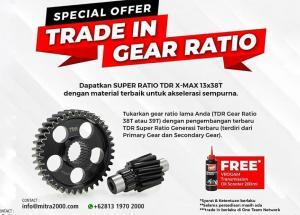 Menarik, TDR Technology Center Gelar Trade In Gear Ratio Yamaha XMAX