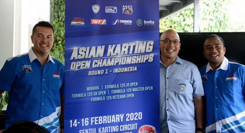 Sentul Karting Circuit menggelar seri perdana Asian Karting Open Championship (AKOC) 2020