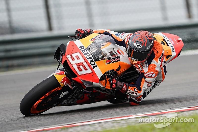 RC213V 2020 besutan Marc Marquez, benarkah semakin lemah di dalam tikungan? (Foto: motorsport)