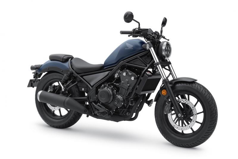 Begini Wajah Baru Honda Rebel 2020