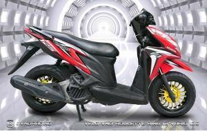 Pelek VND Roulette Dipercaya Bikin Tampang Honda Vario Makin Keren