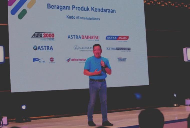 Gunawan Salim pada preskon Astra Auto Fest 2020 di Jakarta hari ini
