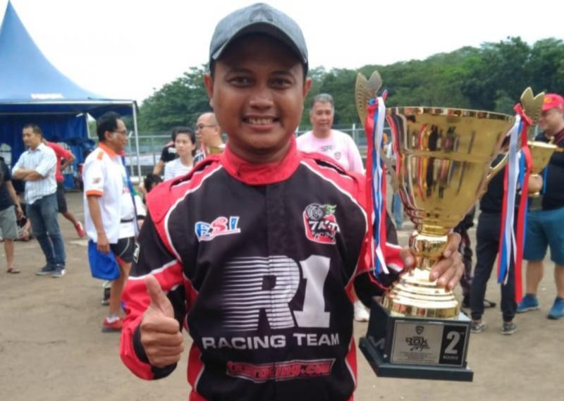 Kurniawan Adhiasa Putra, kembali ke ajang gokart dan raih trofi kemenangan