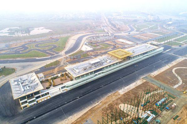 Sirkuit jalan raya di tengah kota Hanoi, Vietnam,  menanti debut F1 pada 5 April 2020. (Foto: automobilsport)