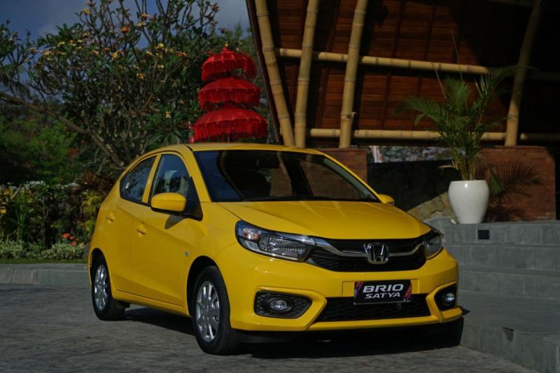Honda Brio Satya masih menyumbangkan kontribusi tertinggi untuk Honda di tahun 2020. (ist)