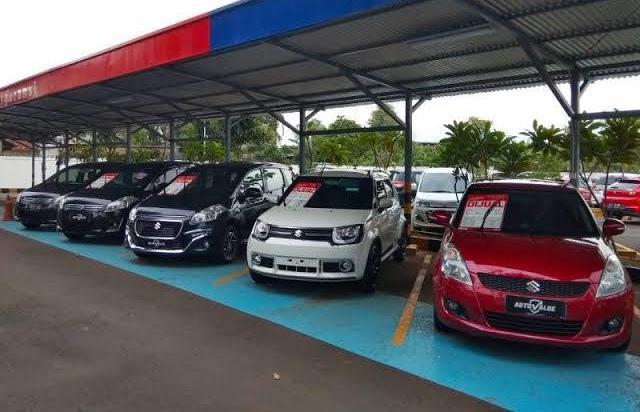 Ilustrasi: Gerai mobil bekas Suzuki Auto Value. (foto: anto)