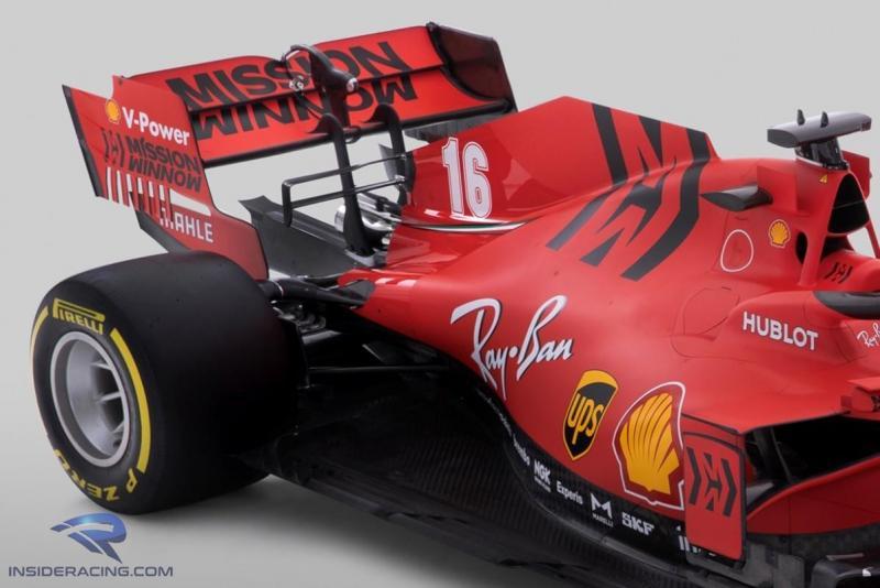 Ini sayap belakang SF1000 yang membonceng masalah hukum buat Ferrari. (Foto: insideracing)