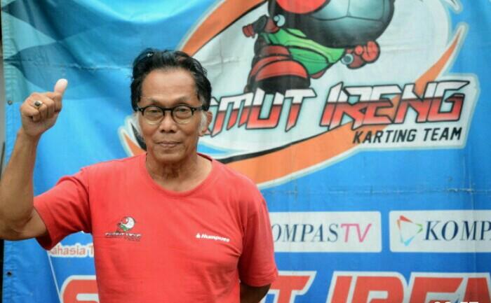 Iwan Semut Ireng, ikut bangga SIKC mendapat homologasi Grade B dan juga jadi sirkuit favorit para pembalap motor. (Foto : fajar)