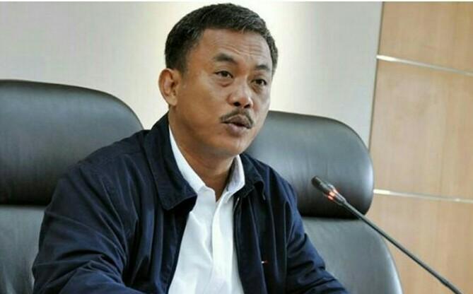 Ketua DPRD DKI Jakarta Prasetyo Edi Marsudi tuding Gubernur Anies Baswedan manipulasi soal lokasi Formula E tetap di Monas. (foto : ist)