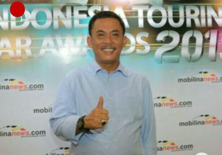 Prasetyo Edi Marsudi saat hadiri acara Balap Touring Award yang digelar mobilinanews
