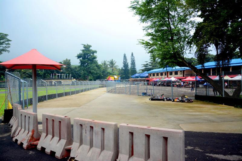 Penyegaran fasilitas Sentul International Karting Circuit