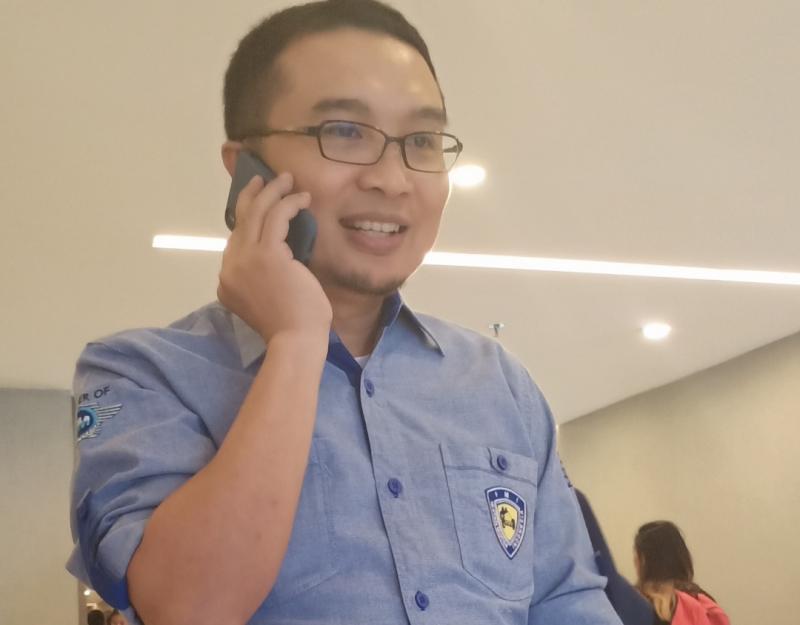 Sadikin Aksa sering gak ngantor gegara ngurusin persiapan balap Formula E yang akan digelar 6 Juni di Jakarta. (Foto : bs)