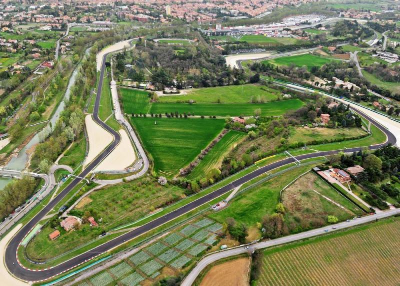 Sirkuit Imola, Italia, alternatif pengganti yang meringankan beban promotor F1. (Foto: formulapassion)