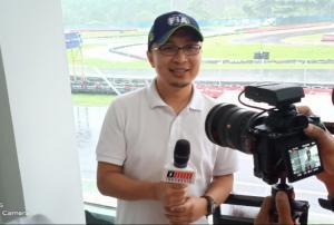 Sadikin Aksa, balap Formula E akan diikuti balap lainnya yang membawa misi lingkungan hidup. (Foto : bs)