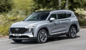 Hyundai Santa Fe generasi terbaru diperkirakan hadir di tahun 2021 (ist)