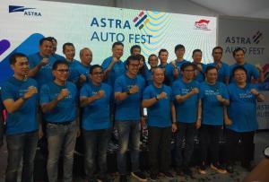 Event Astra Auto Fest 2020 akan melibatkan 19 kolaborator yang merupakan lini bisnis penjualan kendaraan dari grup otomotif Astra. (anto)