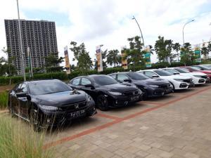 Honda Civic Hatchback RS, target penjualan 1800 unit setahun