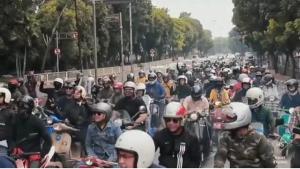 Kuy Gabung Gengs, Bersama Ratusan Vespa Riding Bareng Gerudug Joglo Beer