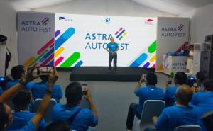Suparno Djasmin, Astra Auto Fest 2020 akan dilaksanakan sebanyak lima kali di empat kota karena terbukti mencatatkan sukses di penyelenggaraan sebelumnya. (anto)