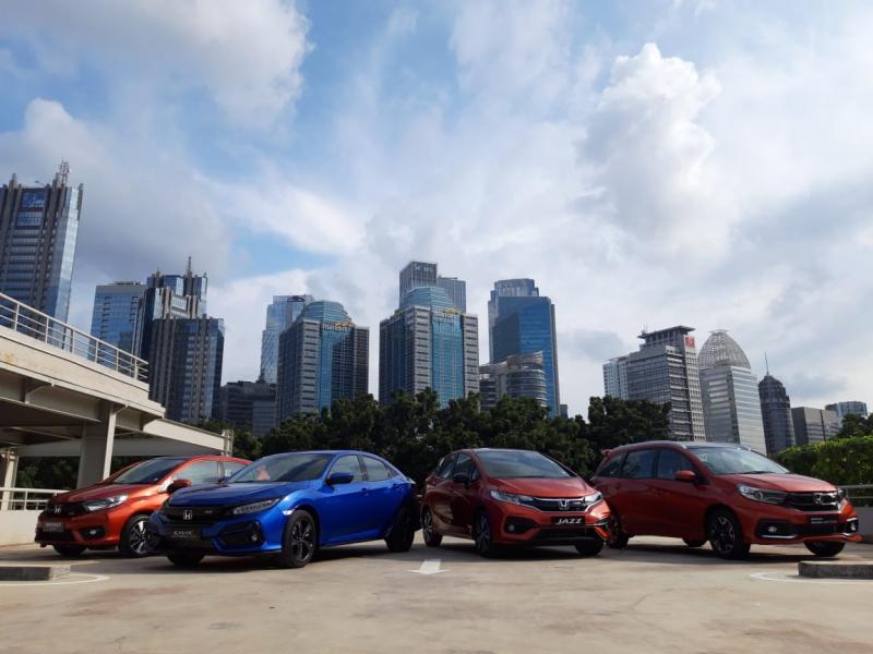 Line up varian Honda RS yang dijual di Indonesia