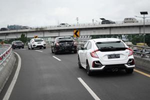 Dibanderol setengah miliar rupiah, Honda Civic Hatchback RS hadir dengan fitur safety lengkap