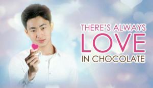 Pembalap Keanon Santoso bintang iklan Dapur Cokelat edisi hari Valentine. (foto : dapur cokelat)