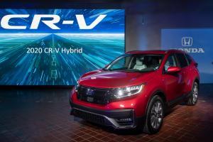 Honda C-RV Hybrid, salah satu model elektrifikasi Honda di pasar global (ist)
