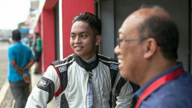 Sikap legowo Zharfan Rahmadi dipuji kalangan balap. (Foto : ist)