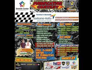 Ikuti Dan Ramaikan, Smmile Center Modificaton Contest at Terminal 3 Bandara Soekarno Hatta