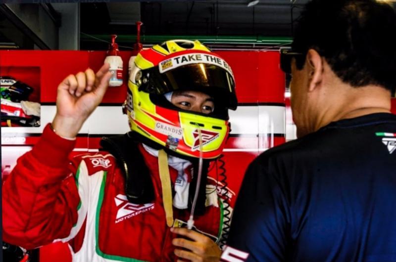 Rio Haryanto raih pole dan berharap bisa menjuarai round terakhir Asian LeMans Series di Thailand hari Minggu esok. (Foto : t2 motorsports)