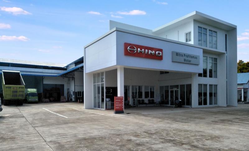 Hino Rantau yang dioperasikan oleh PT Mitra Profitamas Motor (MPM) kini memiliki fasilitas Sales, Service, Spare part (3S) yang telah terstandarisasi Hino.(ist)