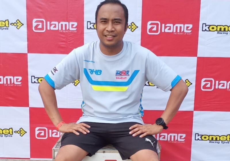 Haridarma Manoppo, optimis menghadapi musim balap mobil ISSOM 2020. (foto : bs).