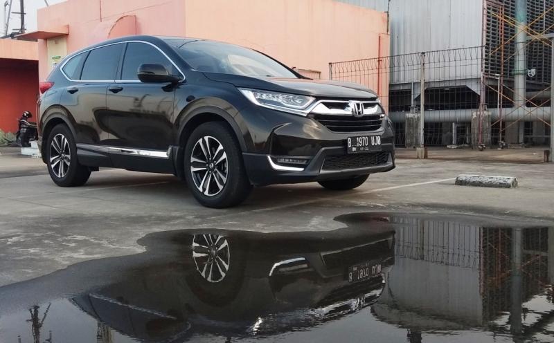 Model SUV Honda seperti HR-V dan CR-V diakui Billy meningkat penjualannya. (anto)